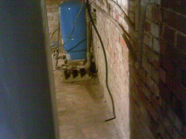 Utilities are one of the main reasons water can seep into the crawl space.