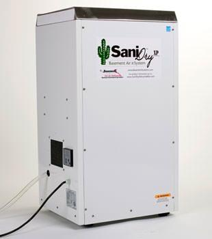 SaniDry The Preferred Dehumidifier for Your Basement or Crawl Space - Image 1
