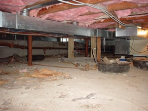 crawl-space-ductwork