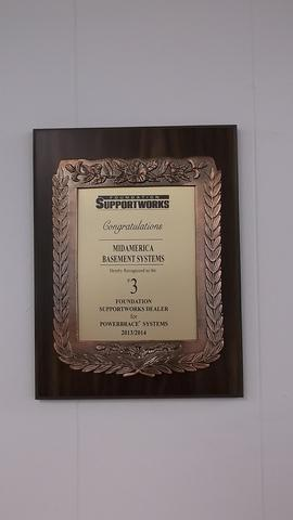 2013/2014 PowerBrace Systems Award