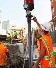 Installing helical piles
