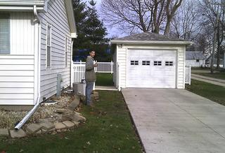 The team works diligently to leave the home better than they found it!