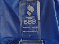 BBB Business Integrity Award