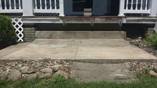 With level slabs, stairs can be replaced, leaving it safe and stable to access.
