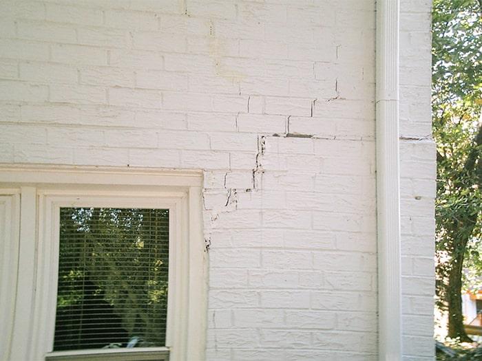 Exterior Door Crack