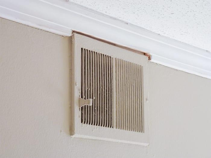 Interior Vent Gap